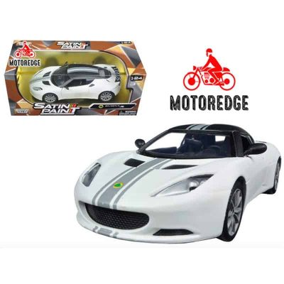 7f5f0c1e8ab5 Lotus Evora S Blanco Satin Paint Motor Max 1 24